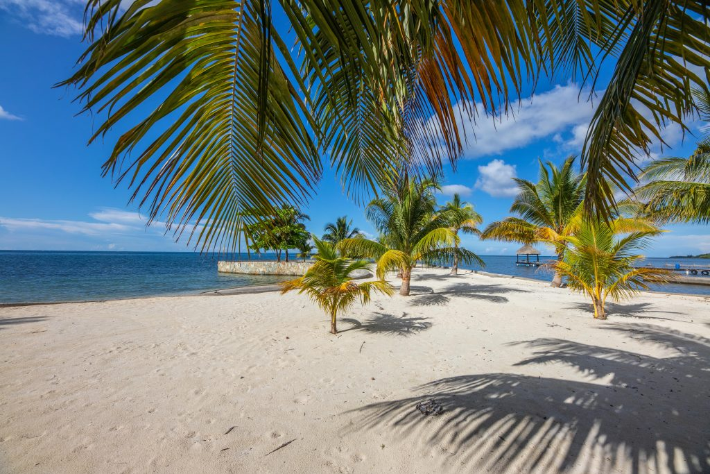 Sandy Beach in Front of Building Lots
