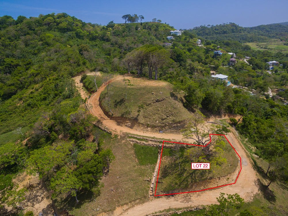 Lot 22 Aerial View